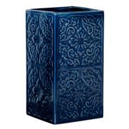 Vaso-Baño-Cordoba-6-6-12Cm-Ceramica-Azul-Oscuro-------------
