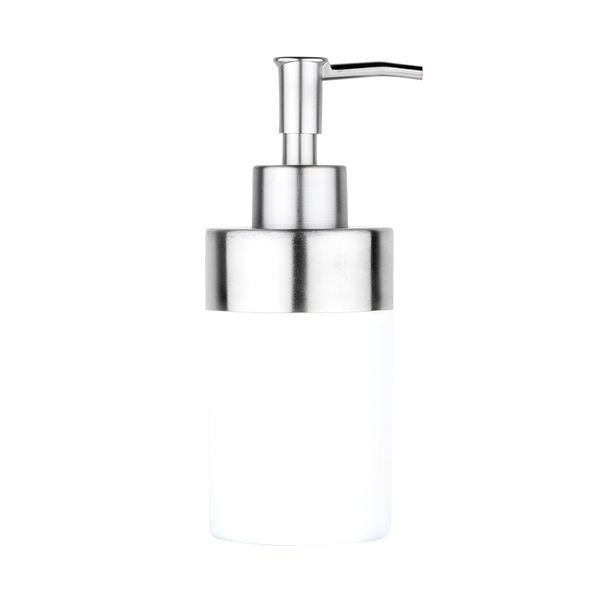 Dispensador-Jabon-Creta-8-7-18Cm-Plastico-Blanco-Cromo------