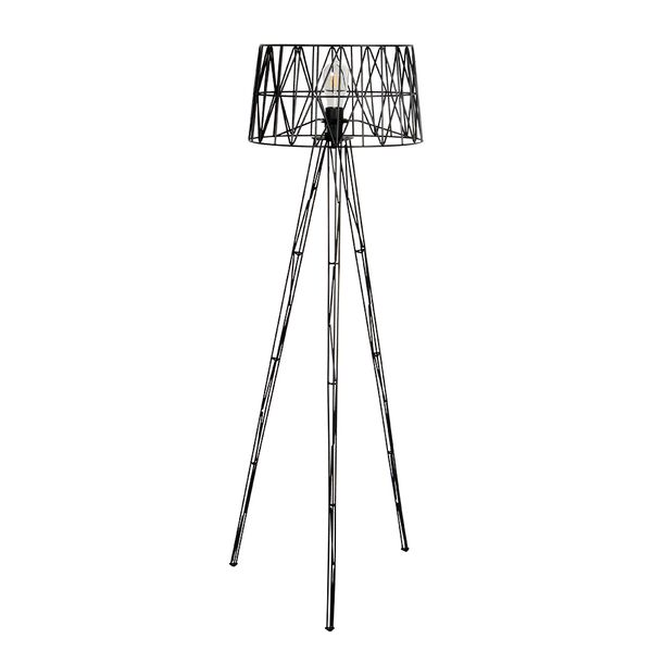 Lampara-De-Piso-Romee-30-30-60Cm-Metal-Negro
