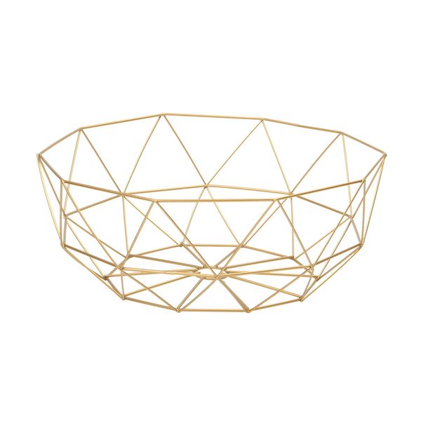 Canasta-Organizadora--Kant-36-36-14Cm-Metal-Dorado----------