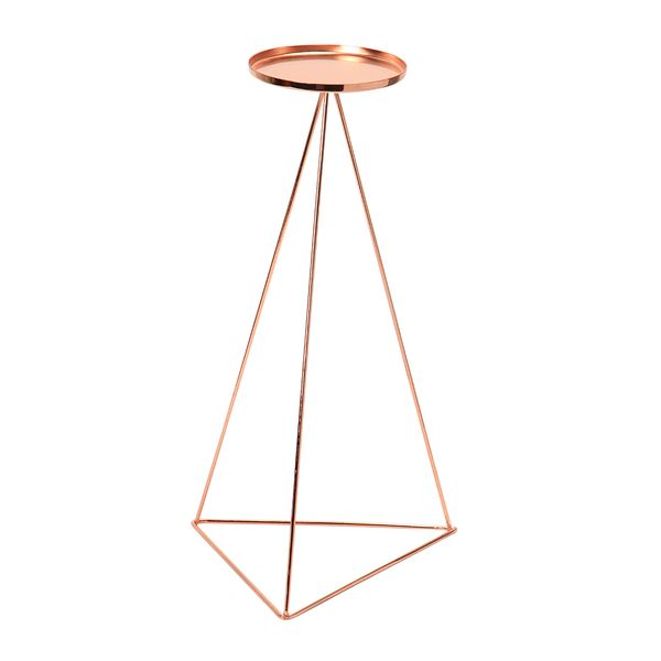 Candelabro-Triangular-C17-Wire-13-15-31.5Cm-Metal-Cobre-----