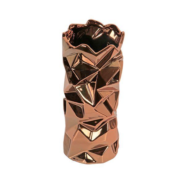 Florero-C17-Niza-11-11-24.5Cm-Ceramica-Cobre----------------