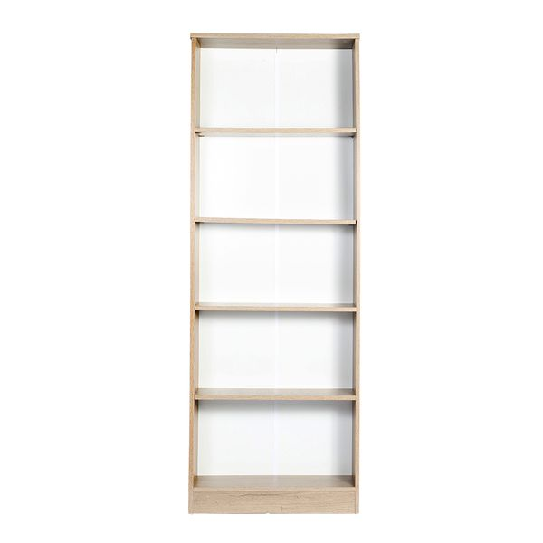 Biblioteca-5-Repisas-Bookie-64-24-175Cm-Lam-Natural---------