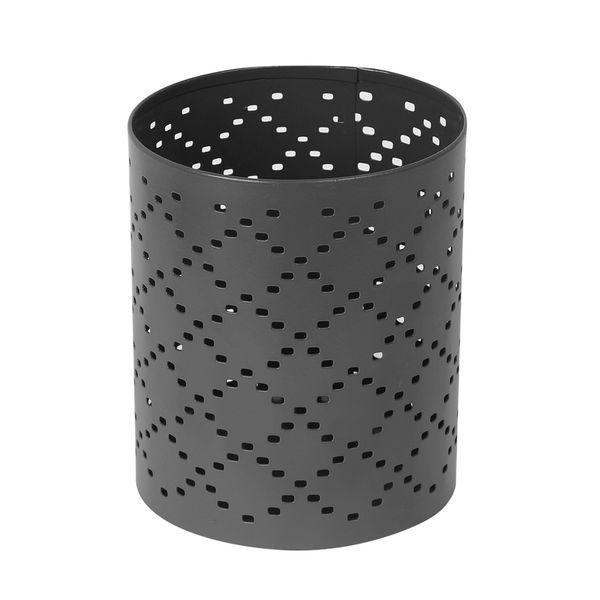 P-Vela-Votive-Pluff-10-10-12Cm-Metal-Gris-Oscuro