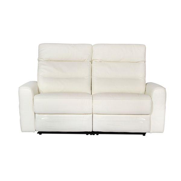 Sofa-2-Puestos-Recli-Elect-Sweden-Cuero-Pvc-Blanco-Cost-Gris