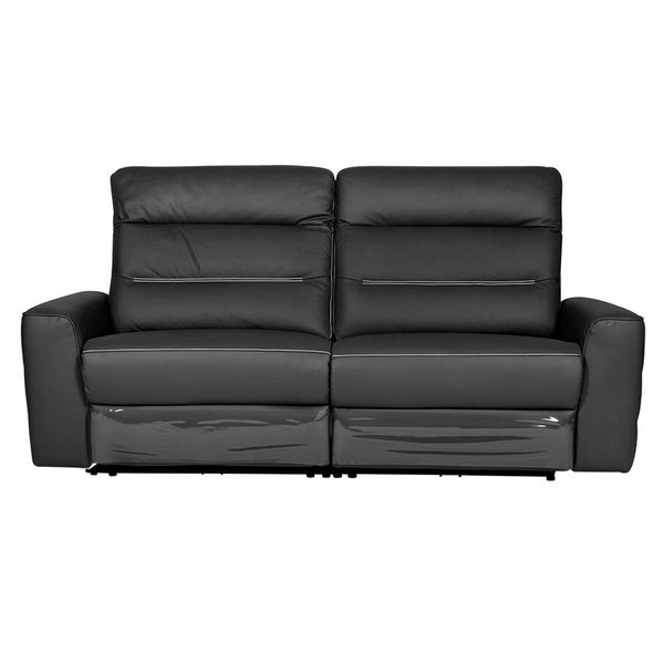Sofa-3-Puestos-Recli-Elect-Sweden-Cuero-Pvc-Negro-Cost-Gris-
