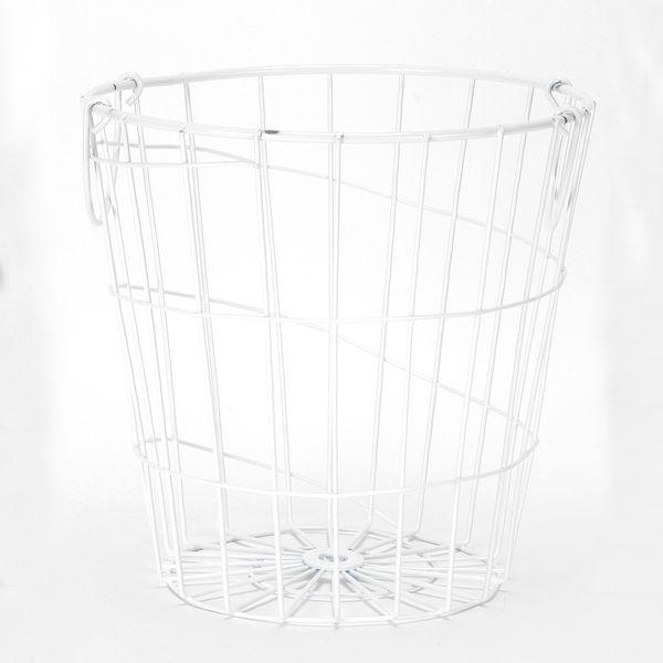 Canasta-Organizadora-Con-Asas-Star-20-20Cm-Metal-Blanco-----
