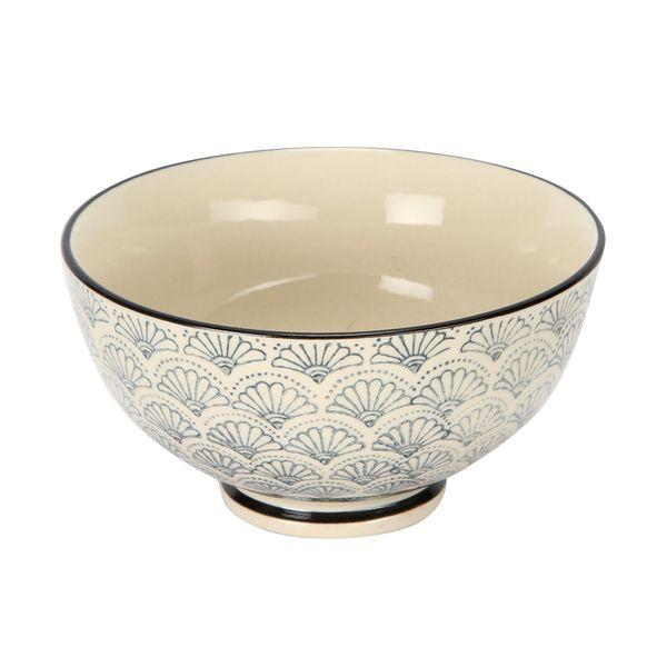 Bowl-Azulejo-Flor-11-11-6Cm-Ceramica-Bl-Az------------------