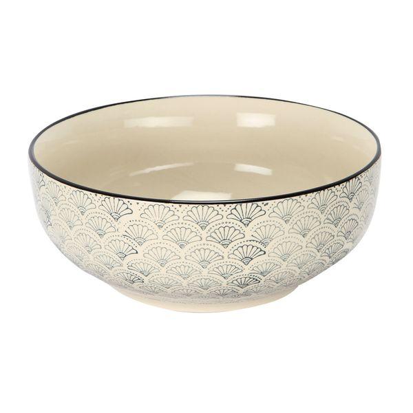 Bowl-Azulejo-Flor-205-205-9Cm-Ceramica-Bl-Az--------------