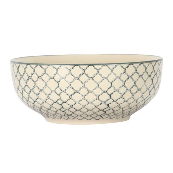 Bowl-Azulejo-Malla-205-205-9Cm-Ceramica-Bl-Az-------------