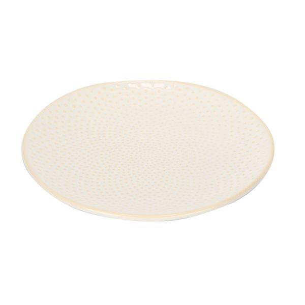 Plato-Postre-Colmena-15-15-2Cm-Ceramica-Blanco--------------