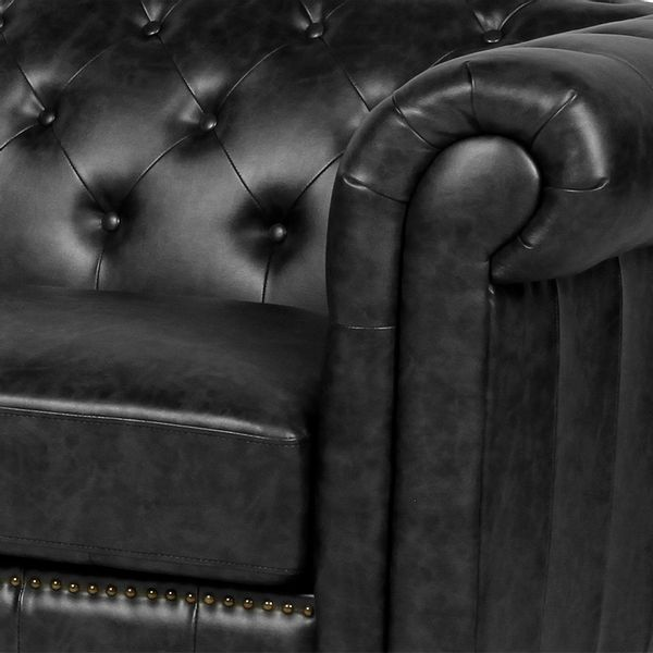 Sofa-3-Puestos-Chester-Pu-Antique-Look-Negro----------------