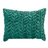 Funda-Cojin-C2-17-Twine-Leaf-30-40Cm-Algodon-Verde-Mar------