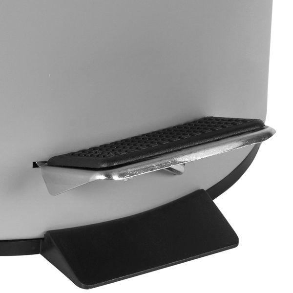 Papelera-Pedal-3Lt-17-255Cm-Metal-Plastico-Gris------------