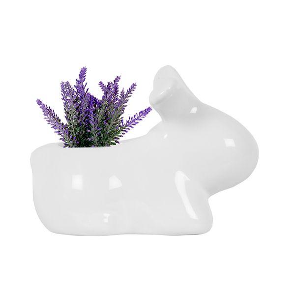 Matera-Conejo-12-12-11Cm-Ceramica-Blanca--------------------
