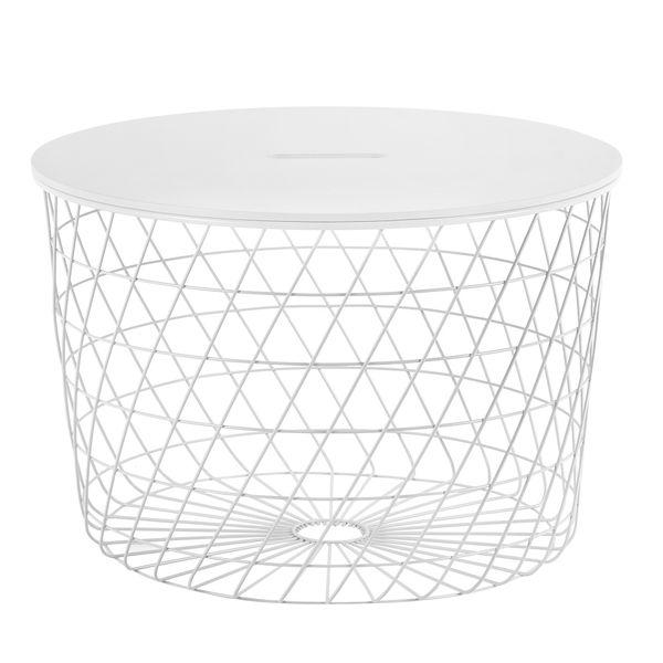 Mesa-Auxiliar-Basket-Diam-60Cm-Metal-Madera-Blanco----------