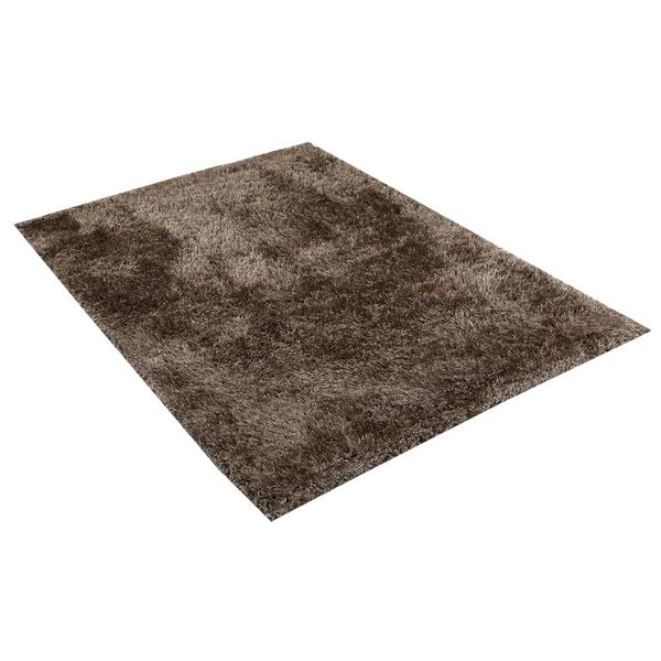 Tapete-Rectangular-Shag-Furry-120-170-4Cm-Poliester-Taupe---