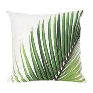 Funda-Cojin-C1S18-45-45Cm-Palm-Leaf-Poliester-Verde