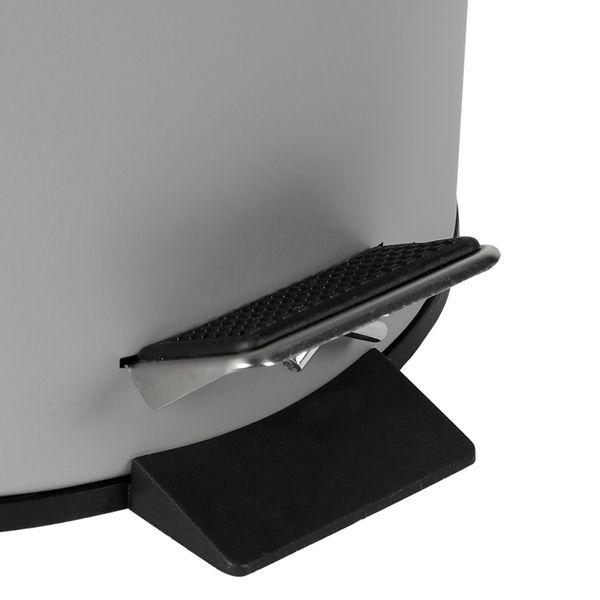 Papelera-Pedal-5Lt-205-275Cm-Metal-Plastico-Gris----------