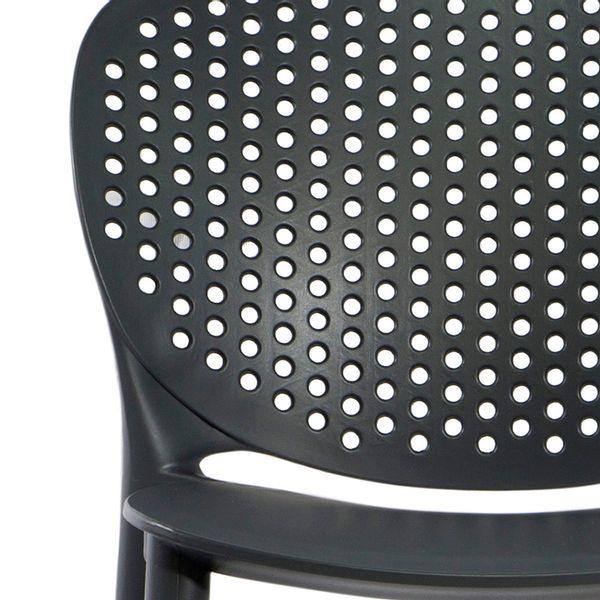 Butaco-Alto-Dots-H65-Plastico-Gris-Oscuro-------------------