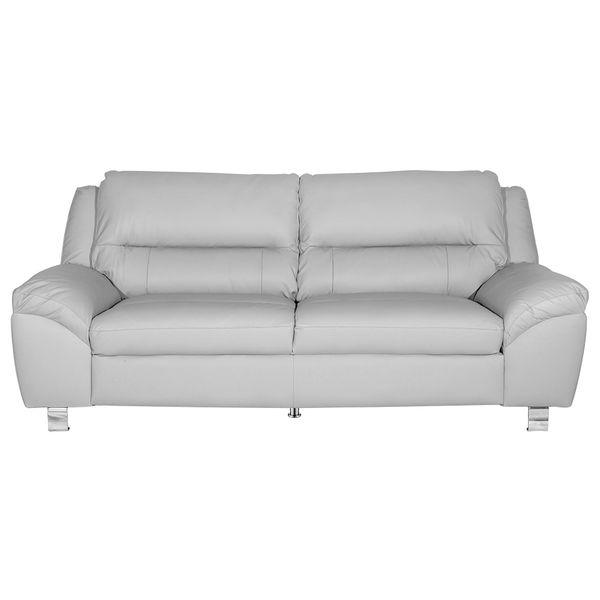 Sofa-3-Ptos-Battley-Cuero-Pvc-Gris-Claro--------------------