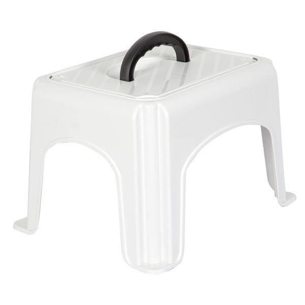 Butaco-C-Manija-Stool-38-30-25Cm-Plastico-Blanco------------