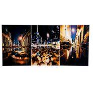 Set-3-Cuadros-Bright-Night-50-35Cm-Acrilico-----------------