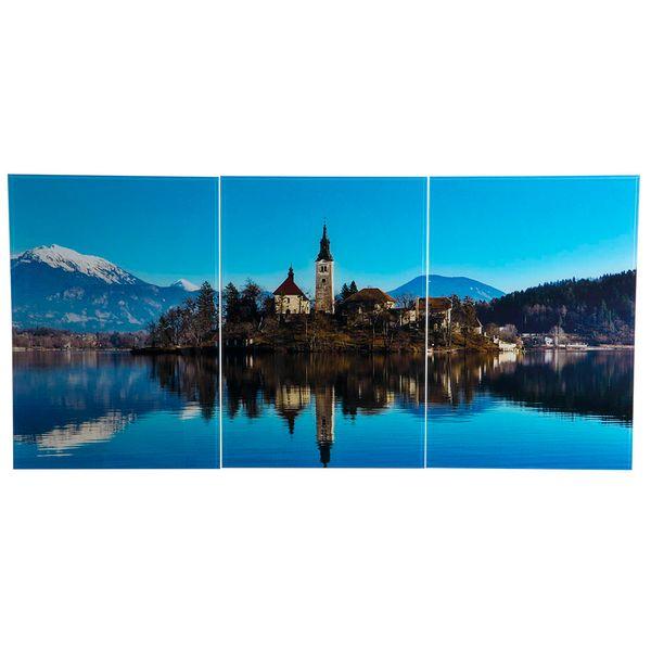 Set-3-Cuadros-Bled-Island-50-35Cm-Acrilico------------------