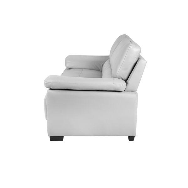 Sofa-3-Puestos-Cadiz-Cuero-Pvc-Gris-Claro-------------------