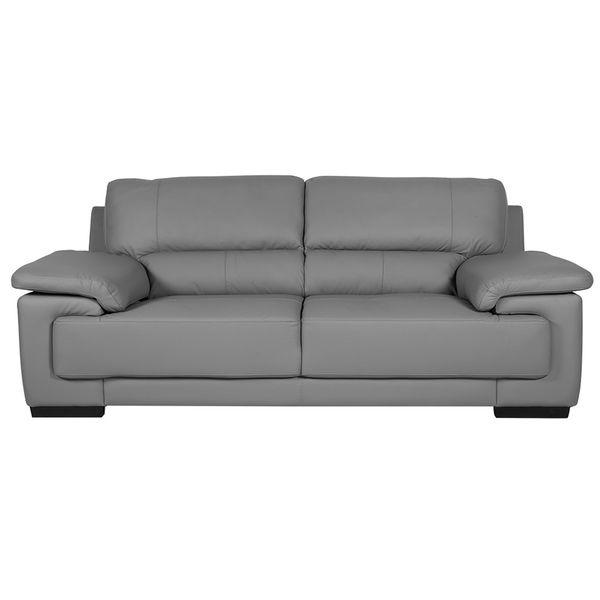 Sofa-3-Puestos-Cadiz-Cuero-Pvc-Gris-Oscuro------------------