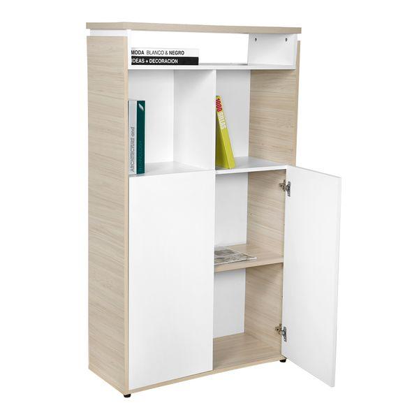 Biblioteca-Smartwork-2-Ptas-75-120-32-Lam-Blanco-Natural