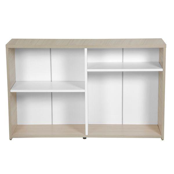 Biblioteca-Baja-Smartwork-75-120-32-Laminado-Blanco-Natural