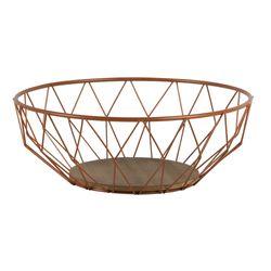 Frutero-Redondo-Siena-35-35-12Cm--Metal--Mdf-Cobre----------