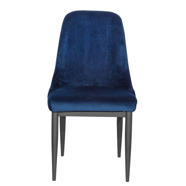 Silla-De-Comedor-Century-Terciopelo-Azul-Metal-Negro--------