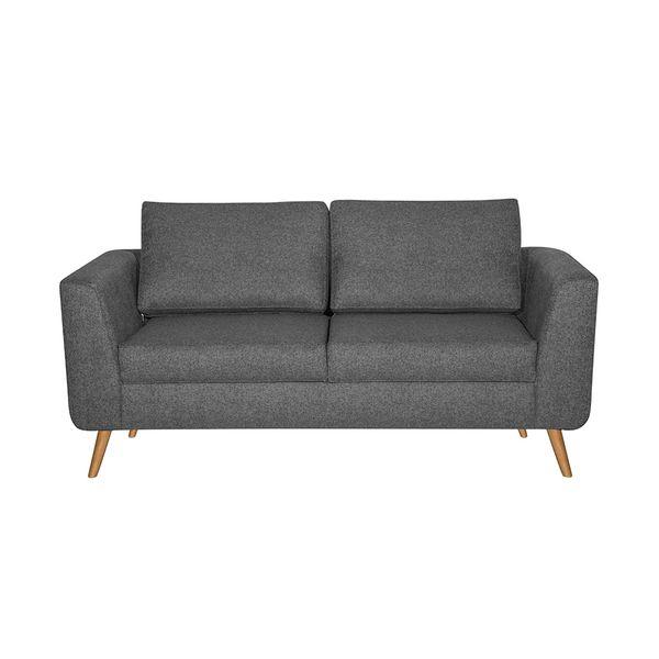 Sofa-2-Puestos-Malmo-Tela-Varena-Gris-Oscuro----------------
