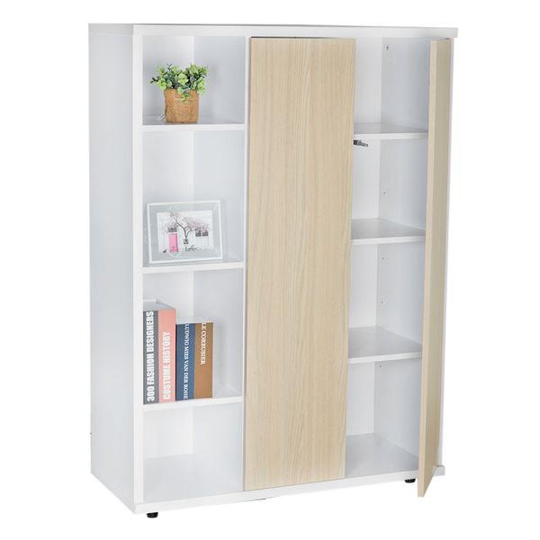 Biblioteca-Bal-100-37-122Cm-Lam-Arena-Blanco----------------
