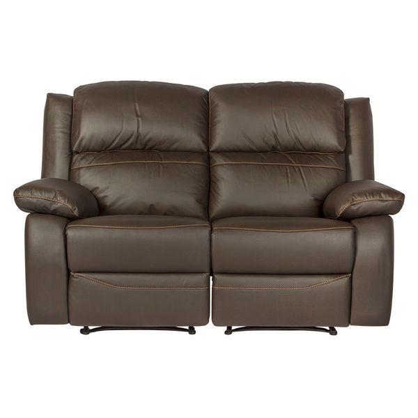Sofa-2-Ptos-Reclinable-Toronto-Cuero-Pvc-Cafe-Costura-Nar---