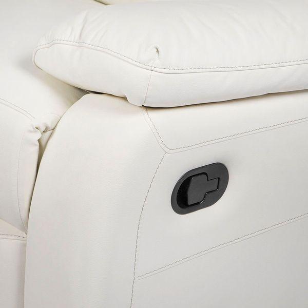 Sofa-2-Ptos-Reclinable-Toronto-Cuero-Pvc-Blanco-Costura-Gris