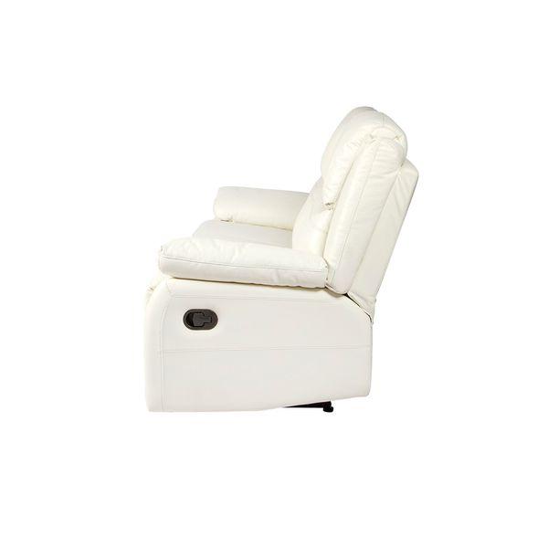 Sofa-3-Ptos-Reclinable-Toronto-Cuero-Pvc-Blanco-Costura-Gris