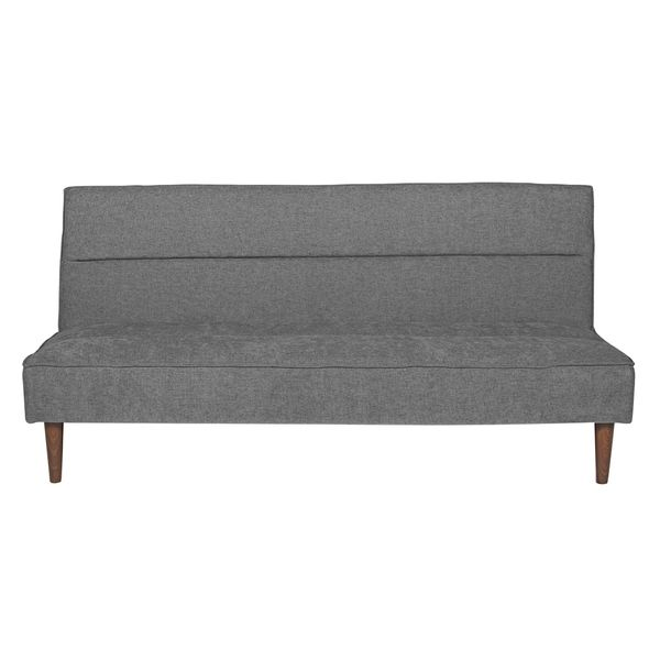 Sofa-Cama-Click-Clack-Belgrano-Tela-Gris-Oscuro-------------