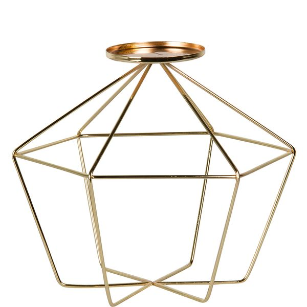 Candelabro-Hexagonal-Wire-C18-25-25-23Cm--Metal-Cobre-------