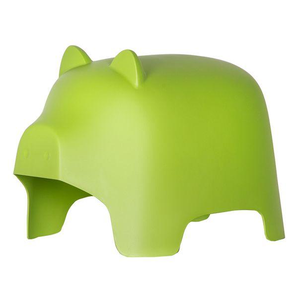 Puff-Ni¤os-Piggy-Plastico-Verde