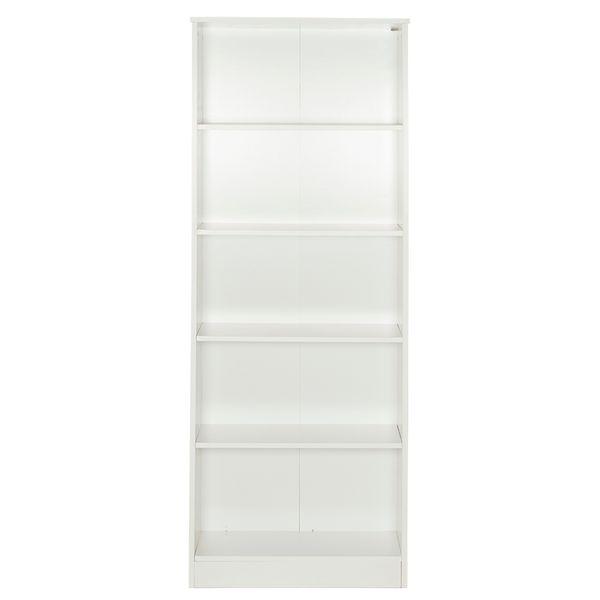 Biblioteca-5-Repisas-Bookie-64-24-175Cm-Lam-Blanco----------