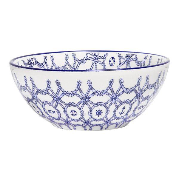 Bowl-Nautico-16Cm-Ceramica-Azul-----------------------------