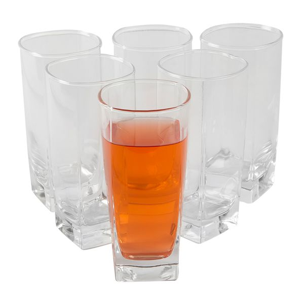 Set-6-Vasos-Largo-Sterling-330-Ml-Vidrio-Transparente-------