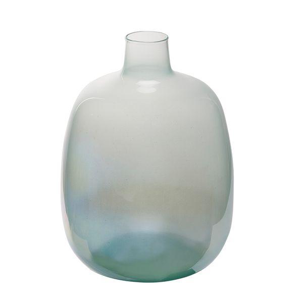 Botella-Osaka-23-23-33Cm-Vidrio-Milky-Verde-----------------