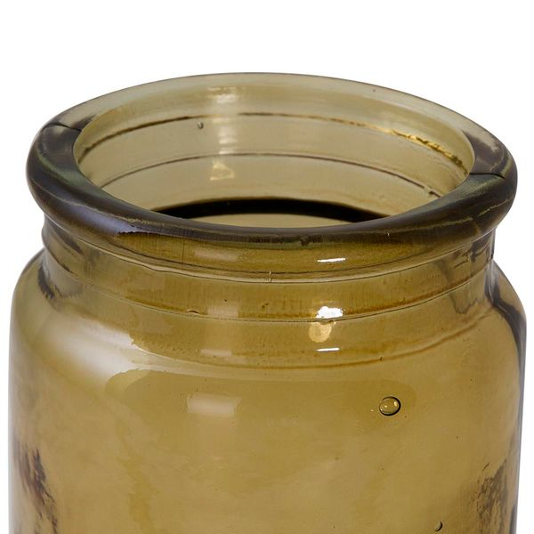 Botella-Pot-Garden-9-9-10.5Cm-Vidrio-Amarillo-Natural-------