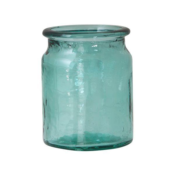 Botella-Pot-Garden-11-11-14.3Cm-Vidrio-Azul-Celeste---------