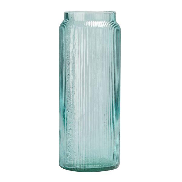 Botella-Grabada-Phoenix-14.5-14.5-38.5Cm-Vidrio-Azul-Celeste