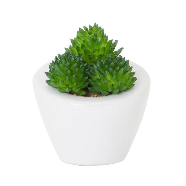 Planta-Artificial-Suculenta-Surt-9Cm-Ceramica-Blanco--------